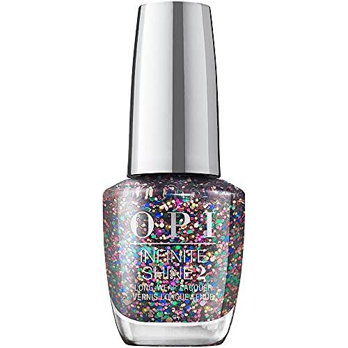 OPI Infinite Shine 2 Long Wear Lacquer Nail Polish - Cheers To Mani Years 0.5 Oz Glitter