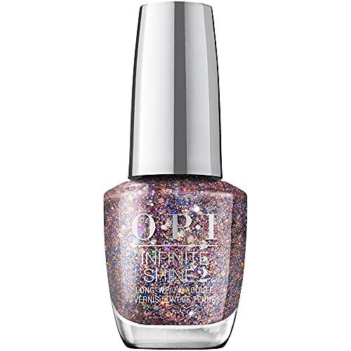 OPI Infinite Shine 2 Long Wear Lacquer Nail Polish - Confetti Ready 0.5 Oz Glitter