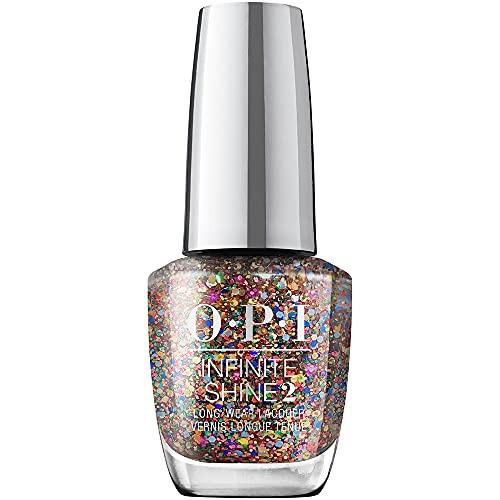 OPI Infinite Shine 2 Long Wear Lacquer Nail Polish - You Had Me At Confetti 0.5 Oz Glitter