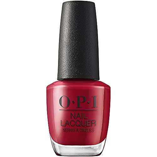 OPI Nail Lacquer Nail Polish - Marachino Cheer-Y 0.5 Oz Dark Red