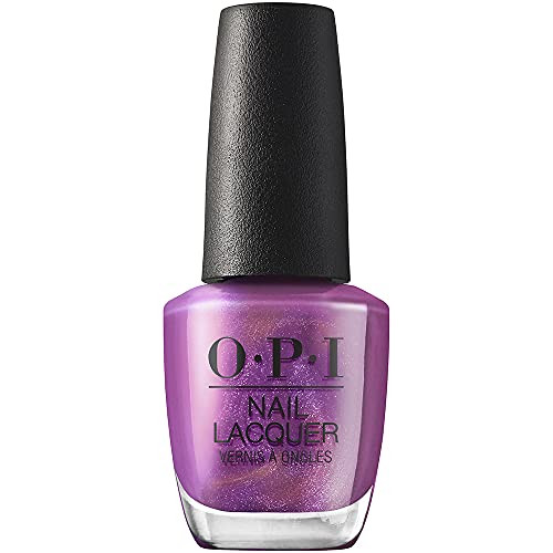 OPI Nail Lacquer Nail Polish - My Color Wheel Is Spinning 0.5 Oz Purple