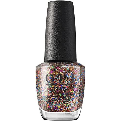 OPI Nail Lacquer Nail Polish - You Had Me At Confetti 0.5 Oz Glitter
