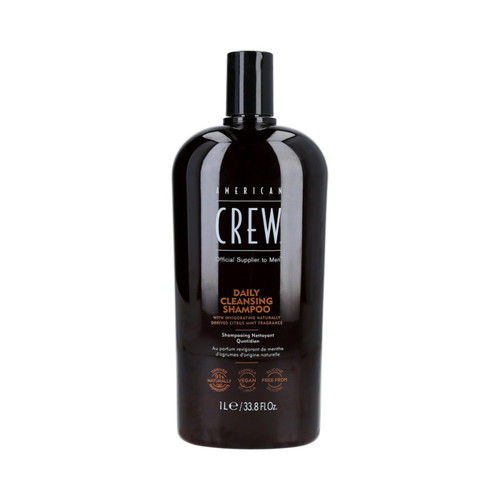 American Crew Daily Cleansing Shampoo 33.8 Oz