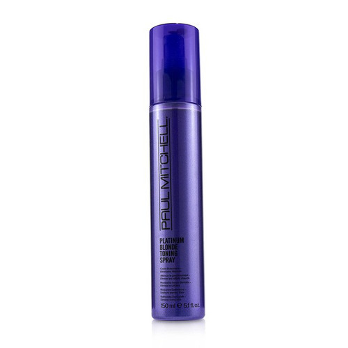 Paul Mitchell Platinum Blonde Toning Spray Cools Brassiness Eliminates Warmth 5.1 Oz