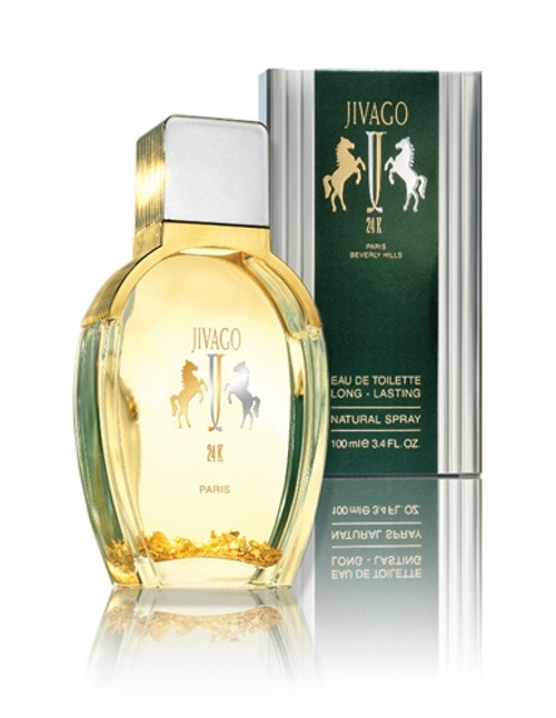 24K Eau de Toilette for Men by Jivago - 3.4 OZ