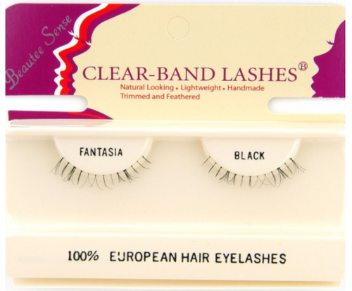 Beautee Sense Clear-Band Lashes - Fantasia Brown