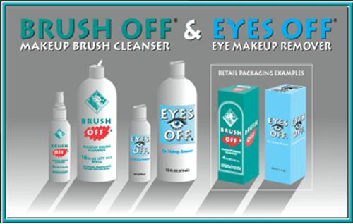 Brush Off Makeup Brush Cleanser 16oz
