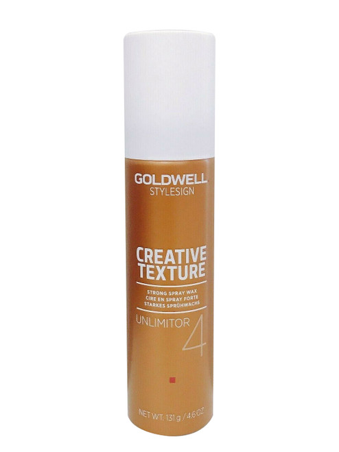 Goldwell Style Sign Texture 4 Unlimitor Spray Wax 4.6 oz
