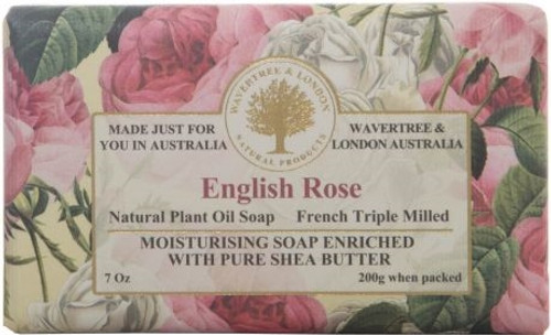 Wavertree & London Luxury Soap - English Rose