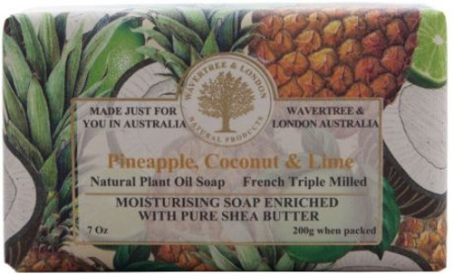 Wavertree & London Luxury Soap - Pineapple, Coconut & Lime
