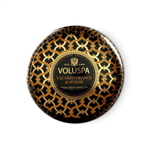 Voluspa Metallo - Vacarro Orange & Myrhh