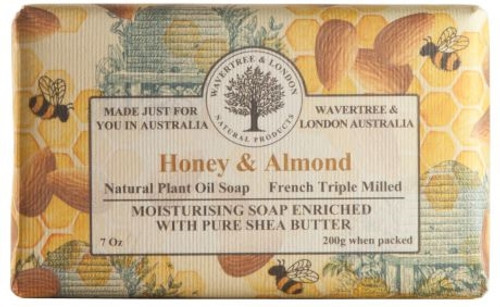 Wavertree & London Luxury Soap - Honey & Almond