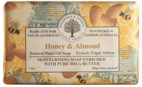 Wavertree & London Luxury Soap - Honey & Almond