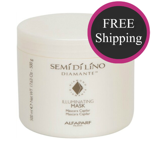 Alfaparf Semi di Lino Diamante Illuminating Mask 17 oz: Free shipping!