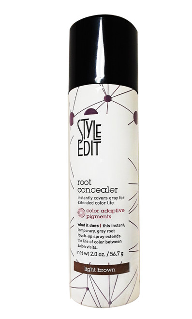 Style Edit Root Concealer - Light Brown 2 oz