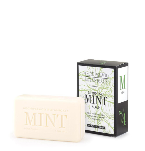 Archipelago Morning Mint Soap 5.2 oz