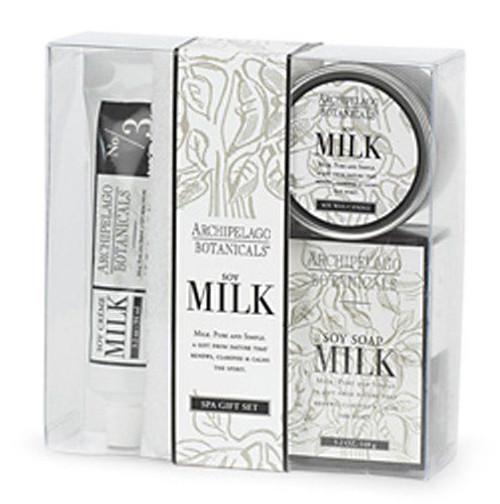 Archipelago Soy Milk Gift Set