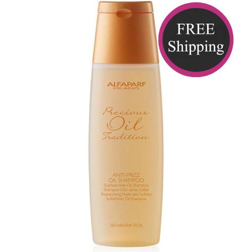 Alfaparf Anti-Frizz Oil Shampoo 8.5 oz: Free shipping!