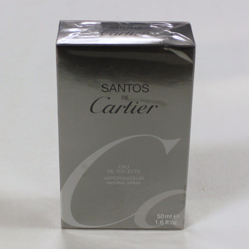 Santos de Cartier Eau de Toilette for Men 1.7 oz