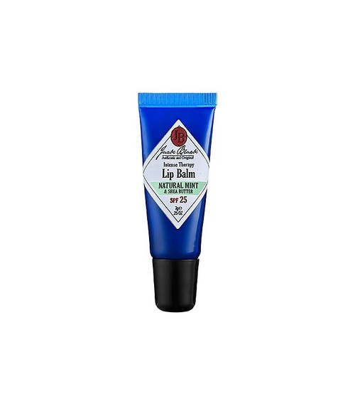 Jack Black Intense Therapy Lip Balm SPF25 - Natural Mint & Shea Butter 0.25 oz