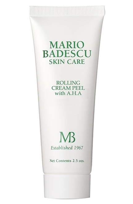 Mario Badescu Rolling Cream Peel with AHA 2.5 oz