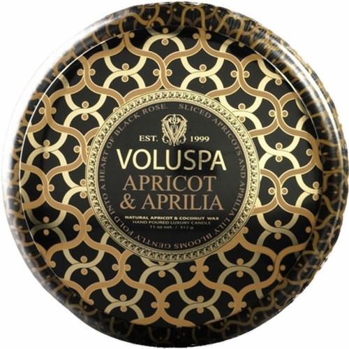 Voluspa Metallo - Apricot & Aprillia