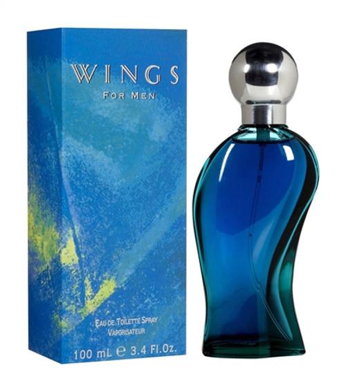 Wings Eau de Toilette for Men 3.4 oz