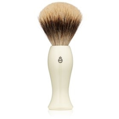 eShave Pure Badger Shaving Brush - Ivory
