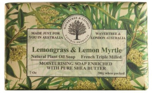 Wavertree & London Luxury Soap - Lemongrass & Lemon Myrtle