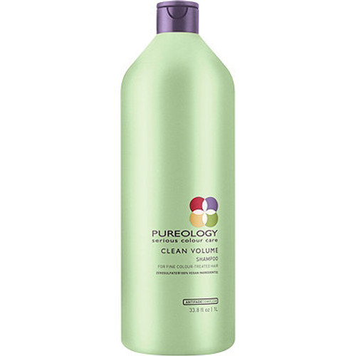 Pureology Clean Volume Shampoo 33.8 Fl Oz