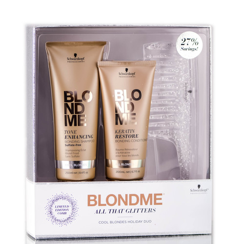 Blondme All That Glitters Cool Blondes Holiday Duo