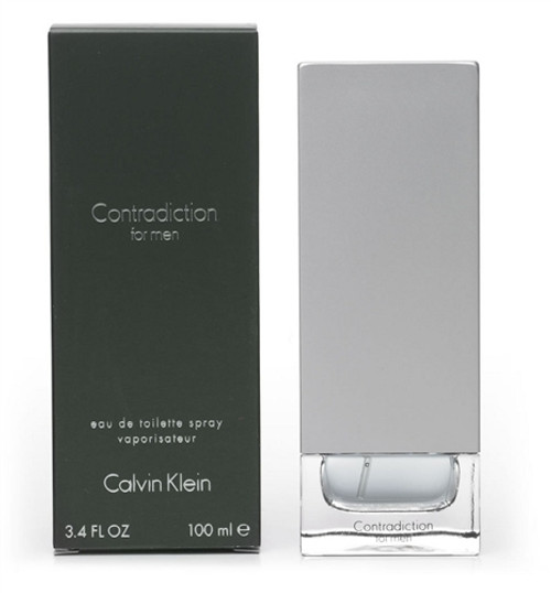 Contradiction Eau de Toilette for Men by Calvin Klein - 3.4 OZ