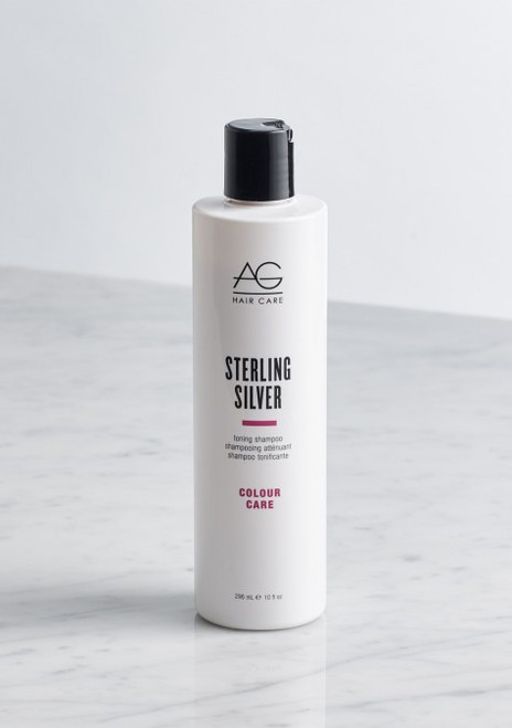 AG Hair Sterling Silver Shampoo, 10 oz