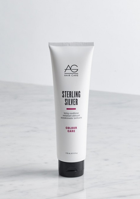AG Hair Sterling Silver Conditioner, 6 oz