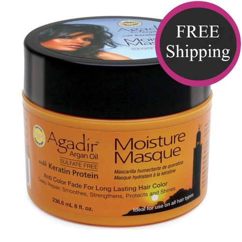 Agadir Argan Oil Moisture Masque 8 oz: Free shipping!