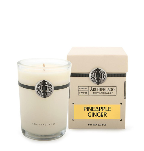 Archipelago Pineapple Ginger Soy Candle