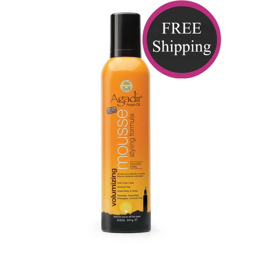 Agadir Styling Mousse 8 oz: Free shipping!