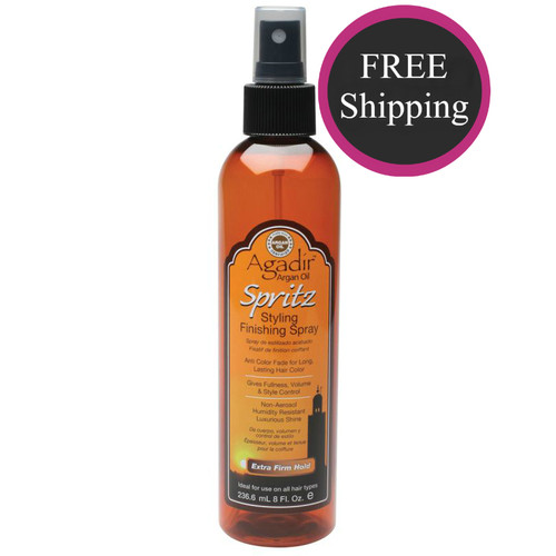 Agadir Spritz Styling Finishing Spray 8 oz: Free shipping!
