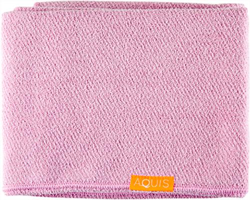 Aquis Lisse Luxe Hair Towel, Desert Rose