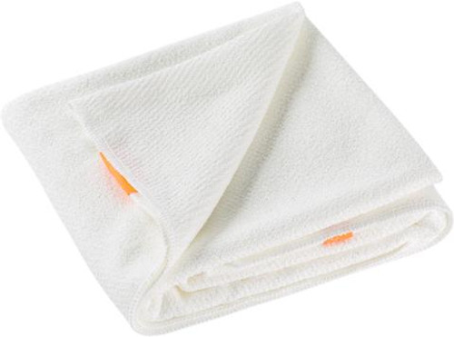 Aquis Lisse Luxe Hair Towel, Ivory White