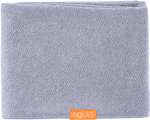 Aquis Lisse Luxe Long Hair Towel, Cloudy Berry