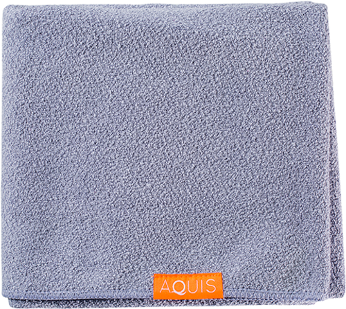 Aquis Lisse Luxe Hair Towel, Cloudy Berry