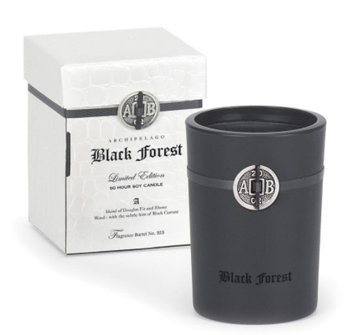 Archipelago Black Forest Candle