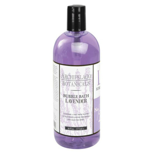 Archipelago Lavender Bubble Bath 16 oz