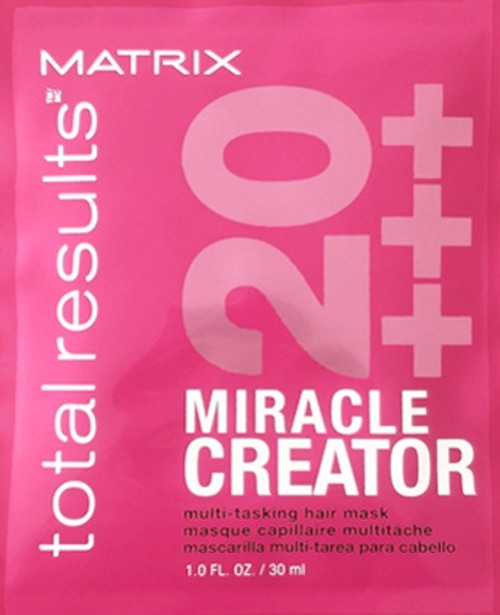 Matrix Miracle Creator Multi-Tasking Hair Mask 1 oz (packet view)