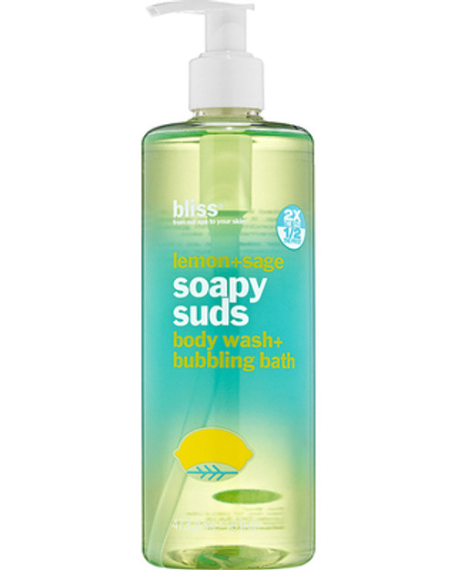 Bliss Lemon + Sage Soapy Suds 16 oz