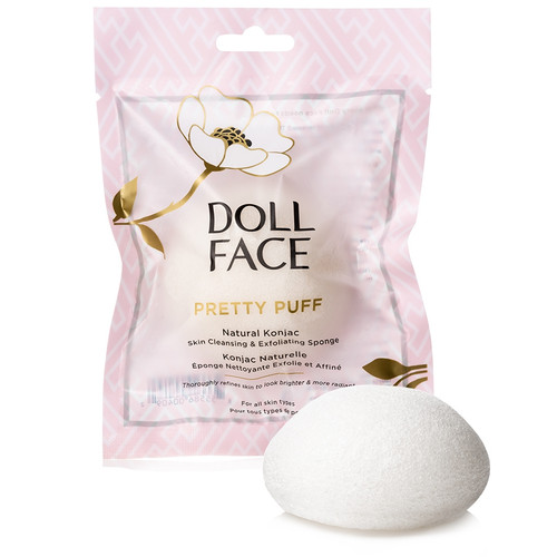 Doll Face Pretty Puff Konjac Sponge