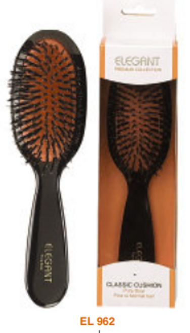 Elegant Premium Oval 100% Boar Small Brush