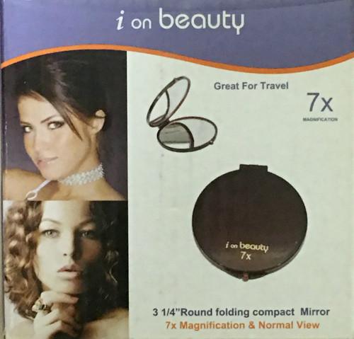 Lilique i on beauty Tortoise Shell Compact 7x