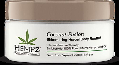 Hempz Coconut Fusion Shimmering Body Souffle